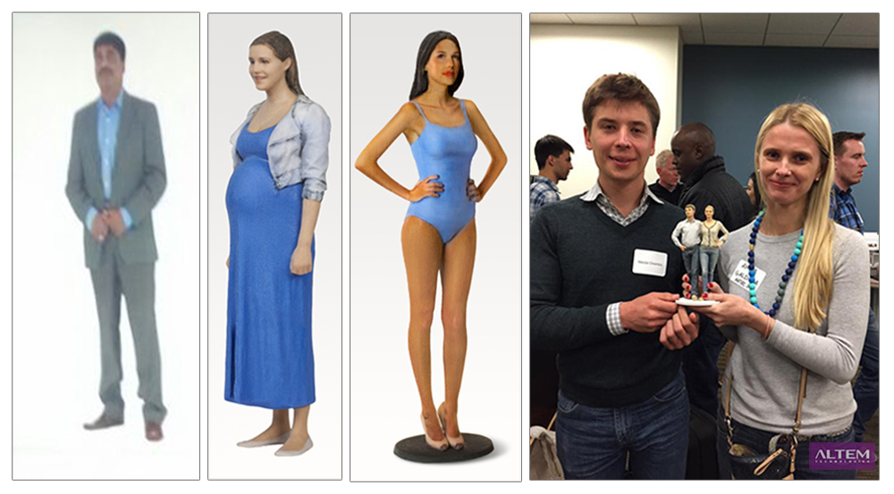 Altem 3DPrinted | Selfies & Figurines with Artec Shapify 3D
