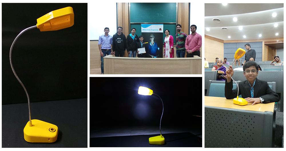 Solar lamp_IITBombay
