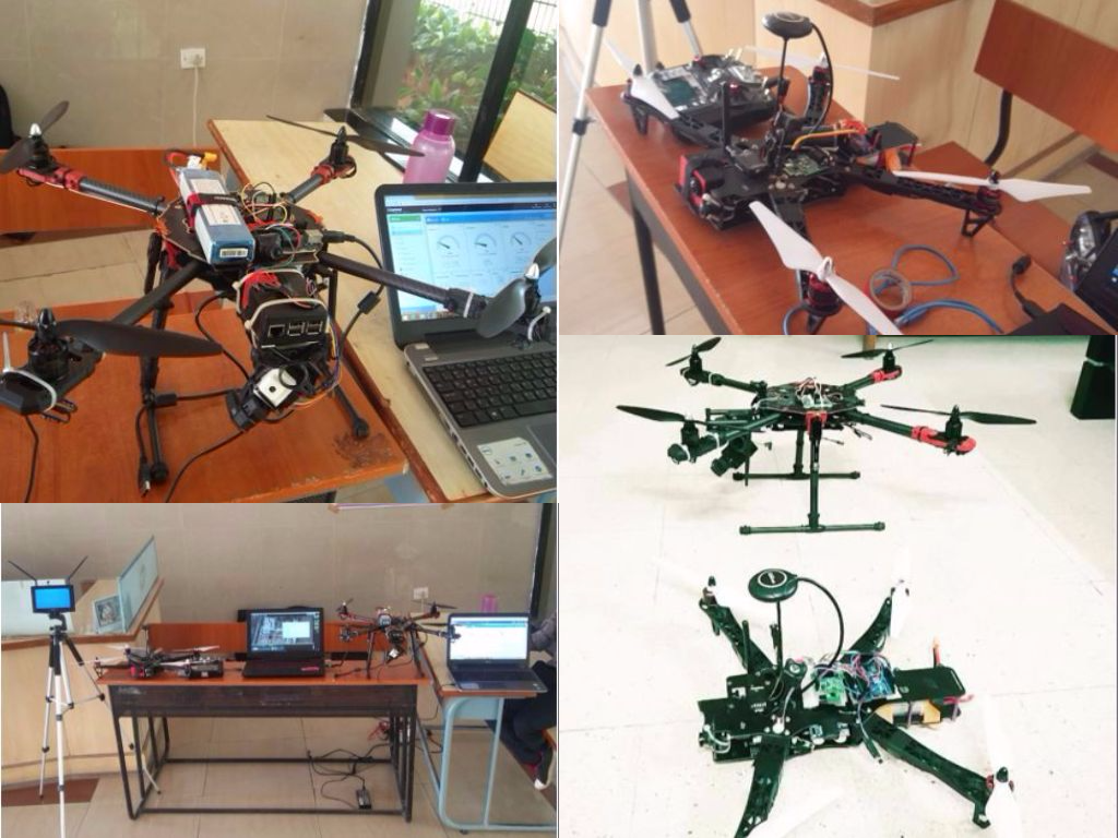 3D Printing in Fire Surveillance Drone