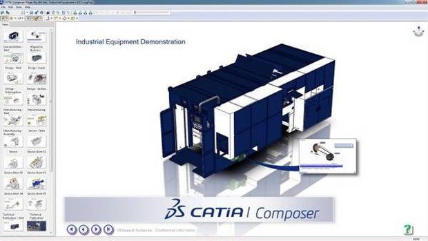 CATIA Composer Player
